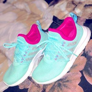Girls Adidas tennis shoes